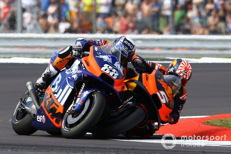 Johann Zarco, Red Bull KTM Factory Racing e Miguel Oliviera, Red Bull KTM Tech 3
