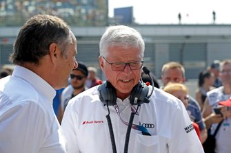 Gerhard Berger und Arno Zensen