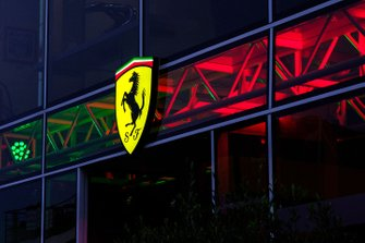 Prancing horse Ferrari logo