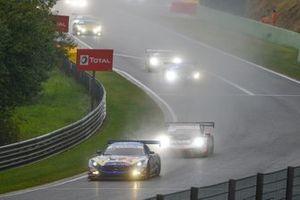 #4 Mercedes-AMG Team Black Falcon Mercedes-AMG GT3: Yelmer Buurman, Luca Stolz, Maro Engel leads
