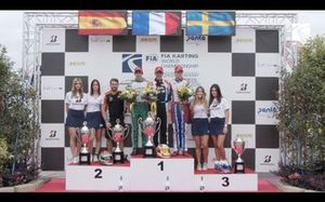 Podio: FIA International Super Cup KZ2 2019