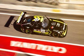 #43 Strakka Racing Mercedes-AMG GT3: Romain Monti, Max Koebolt, Esteban Muth
