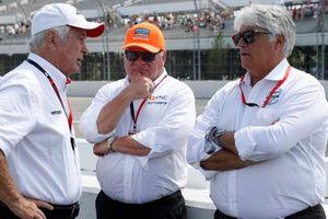 Roger Penske, Chip Ganassi, Mark Miles