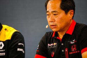 Toyoharu Tanabe, directeur technique F1 Honda, lors de la conférence de presse