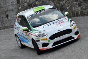 Andrea Mazzocchi, Silvia Gallotti, Ford Fiesta R2, Leonessa Corse