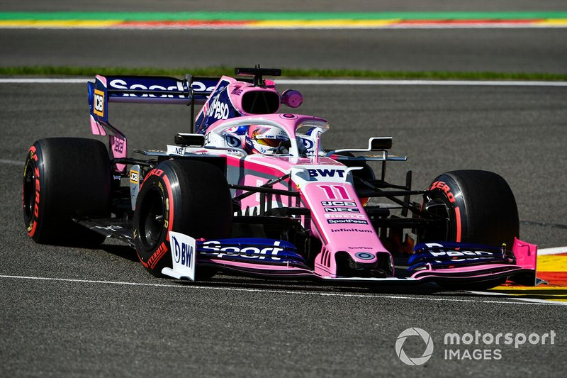 7: Sergio Perez, Racing Point RP19, 1'44.706