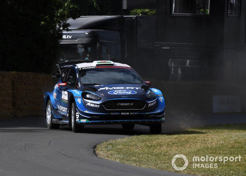 Ford Fiesta WRC Elfyn Evans