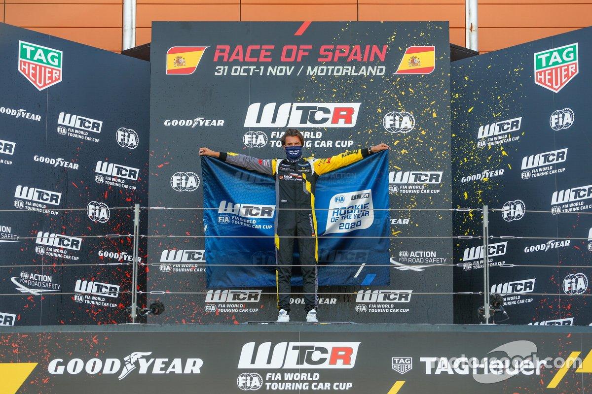 Novato del año, Gilles Magnus, Comtoyou Racing Audi RS3 LMS
