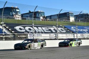 Riley Herbst, Joe Gibbs Racing, Toyota Supra Monster Energy, Ross Chastain, Kaulig Racing, Chevrolet Camaro Nutrien Ag Solutions