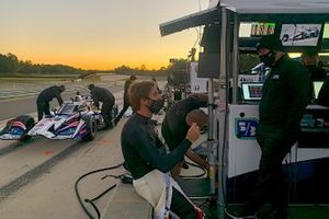 Antonio Felix da Costa, Rahal Letterman Lanigan Racing, Honda Indycar'ı test ediyor