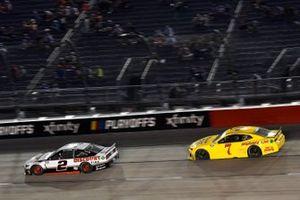 Brad Keselowski, Team Penske, Ford Mustang Discount Tire, Josh Bilicki, Tommy Baldwin Racing, Chevrolet Camaro Insurance King
