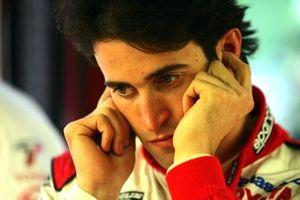 Ricardo Zonta, Toyota in de garage
