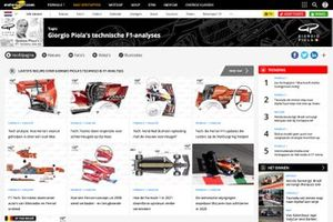 Giorgio Piola's technische analyses op Motorsport.com