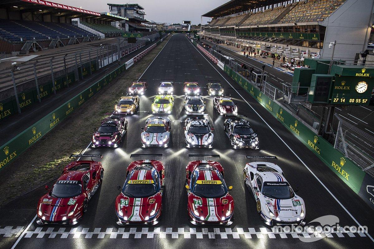 Los automóviles Ferrari