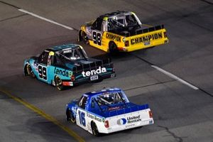 Ben Rhodes, ThorSport Racing, Ford F-150 Tendam and Grant Enfinger, ThorSport Racing, Ford F-150 Champion/Curb Records