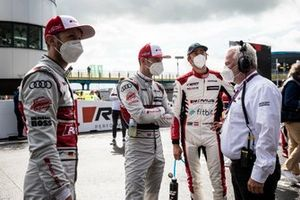 René Rast, Audi Sport Team Rosberg, Jamie Green, Audi Sport Team Rosberg, Ferdinand Habsburg, Audi Sport Team WRT