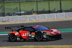 #55 Autobacs Racing Team Aguri Honda NSX GT3: Shinichi Takagi, Toshiki Oyu