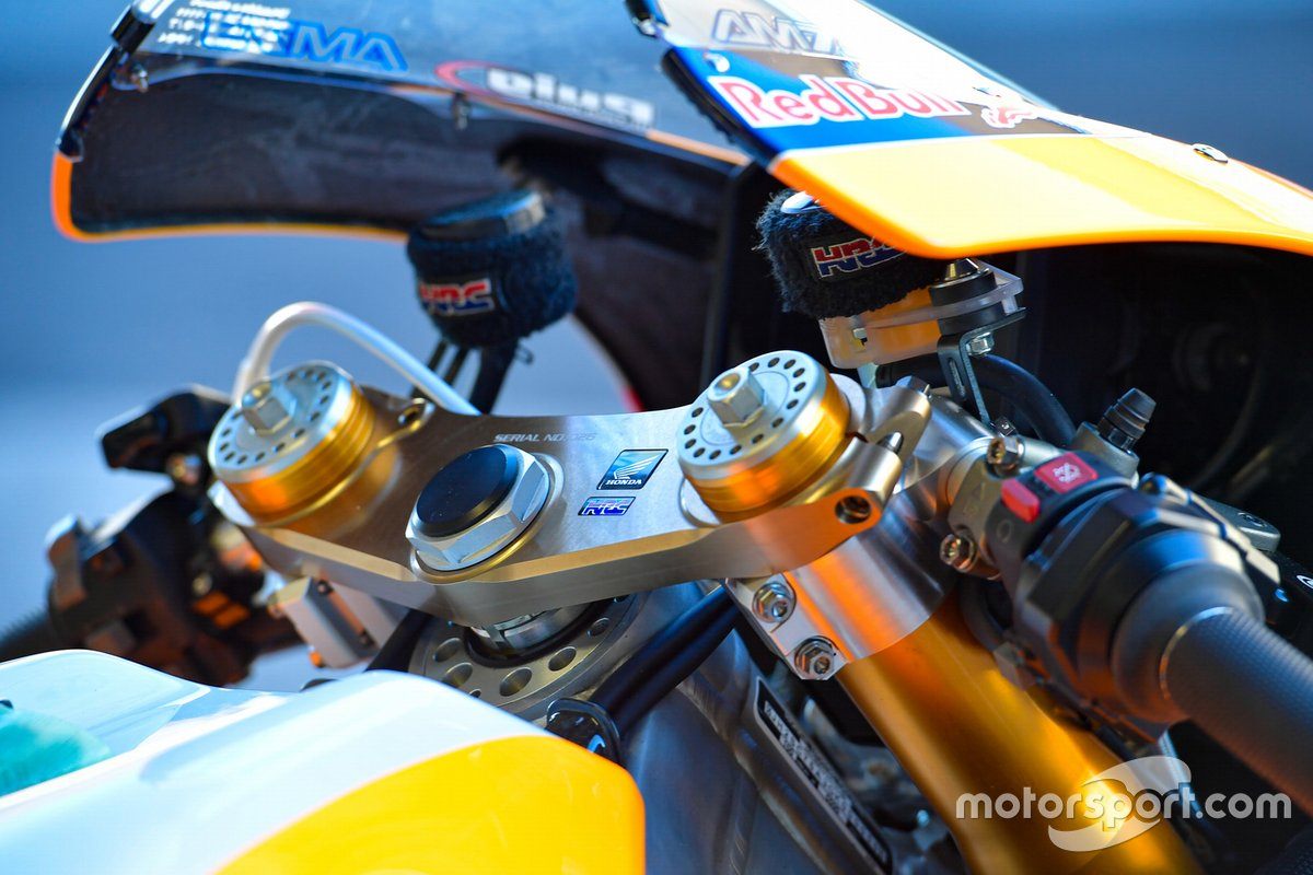Repsol Honda bike detail