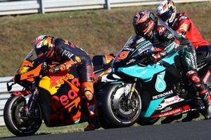 Pol Espargaro, Red Bull KTM Factory Racing , Fabio Quartararo, Petronas Yamaha SRT