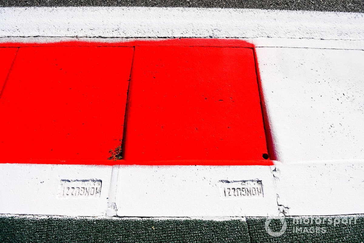 Piano del circuito de Monza