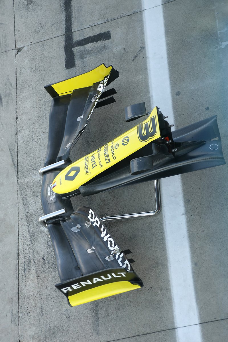 Renault F1 Team R.S.20 front wing