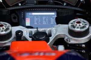 Red Bull KTM Tech3 dash