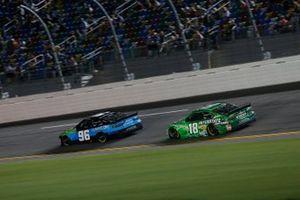 Daniel Suarez, Gaunt Brothers Racing, Toyota Camry CommScope, Kyle Busch, Joe Gibbs Racing, Toyota Camry Interstate Batteries