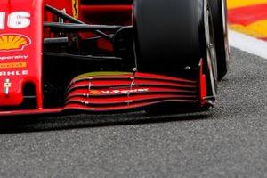 Aileron avant de la Ferrari SF1000