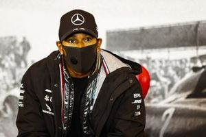 Race Winner Lewis Hamilton, Mercedes-AMG F1 in the press conference