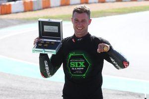 Jonathan Rea, Kawasaki Racing Team celebrates his sixth World Championship