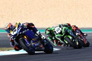 Loris Baz, Ten Kate Racing Yamaha, Xavi Fores, Kawasaki Piccetti Racing