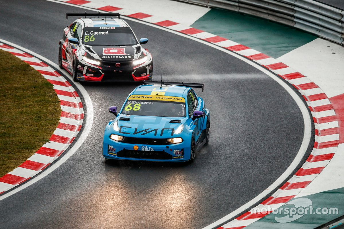 Yann Ehrlacher, Cyan Racing Lynk & Co 03 TCR, Esteban Guerrieri, ALL-INKL.COM Münnich Motorsport Honda Civic TCR