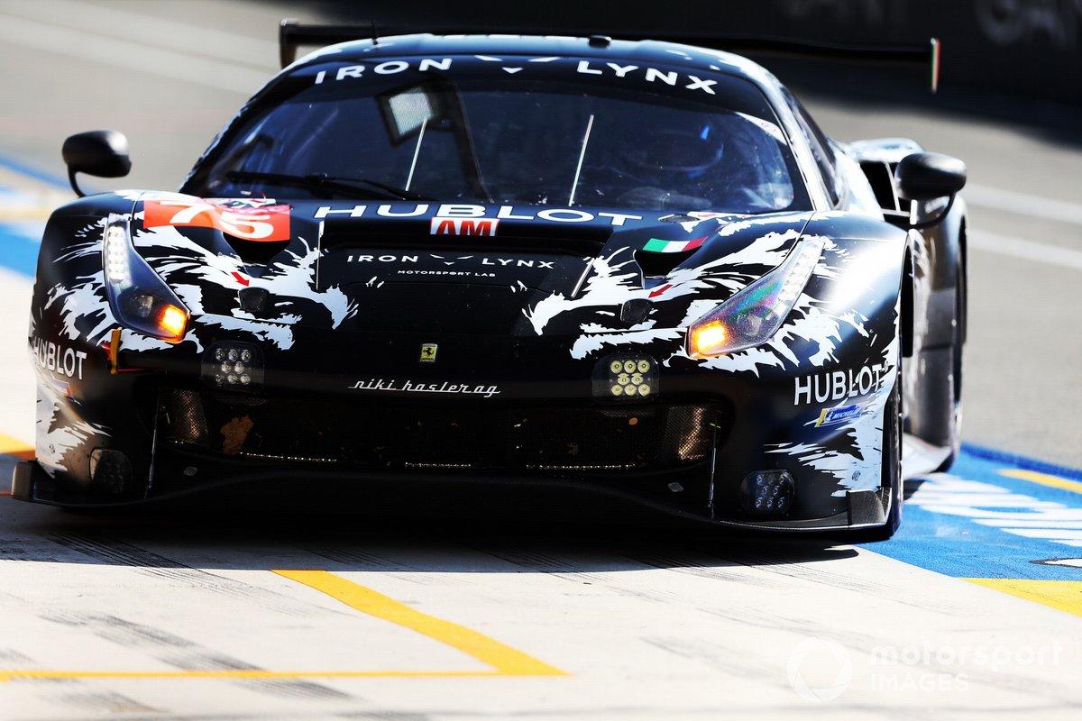 #75 Iron Lynx Ferrari 488 GTE EVO: Rino Mastronardi, Matteo Cressoni, Andrea Piccini