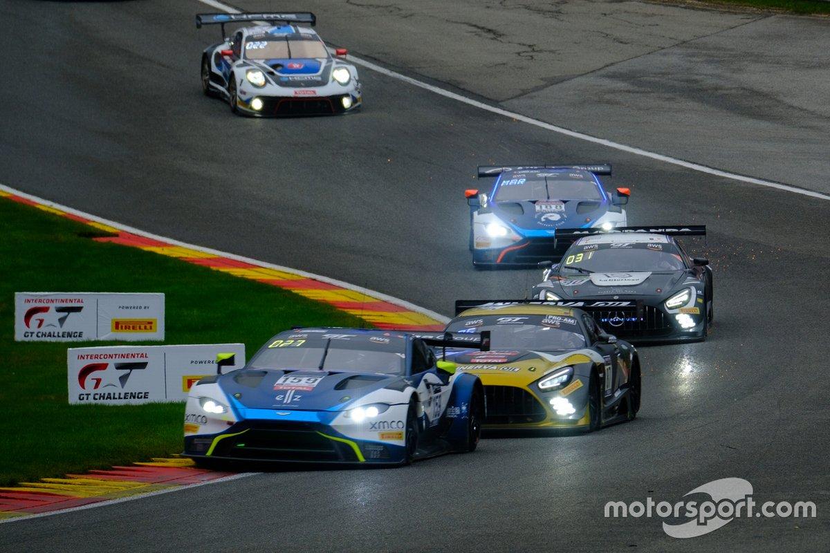 #19 Orange 1 FFF Racing Team Lamborghini Huracan GT3 Evo: Hiroshi Hamaguchi, Luigi Moccia, Raffaele Gianmaria, Phil Keen