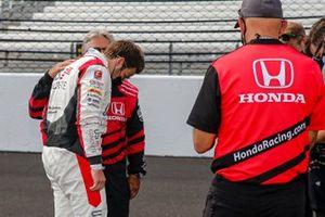 Marco Andretti, Andretti Herta with Marco & Curb-Agajanian Honda, mit Großvater Mario Andretti