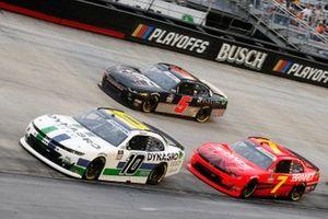 Ross Chastain, Kaulig Racing, Chevrolet Camaro Dyna-Gro Seed and Justin Allgaier, JR Motorsports, Chevrolet Camaro BRANDT