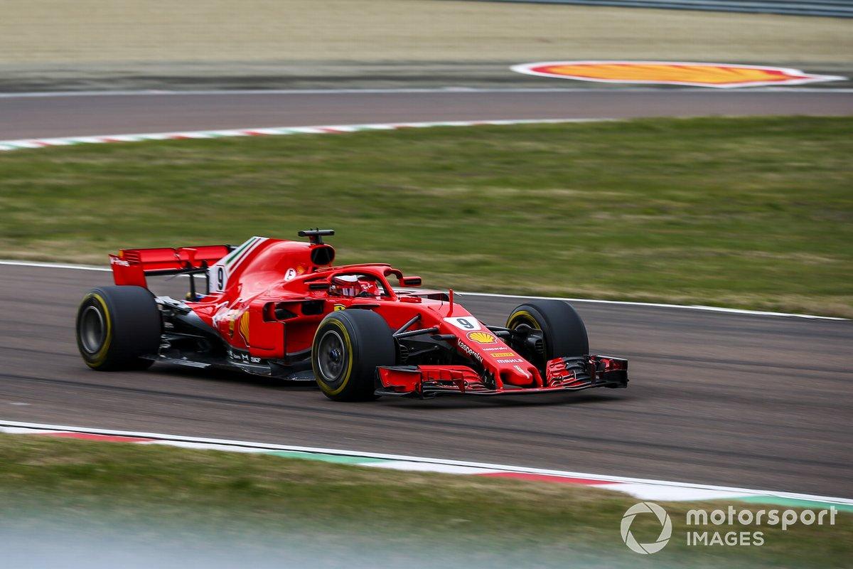 Marcus Armstrong, Ferrari SF71H