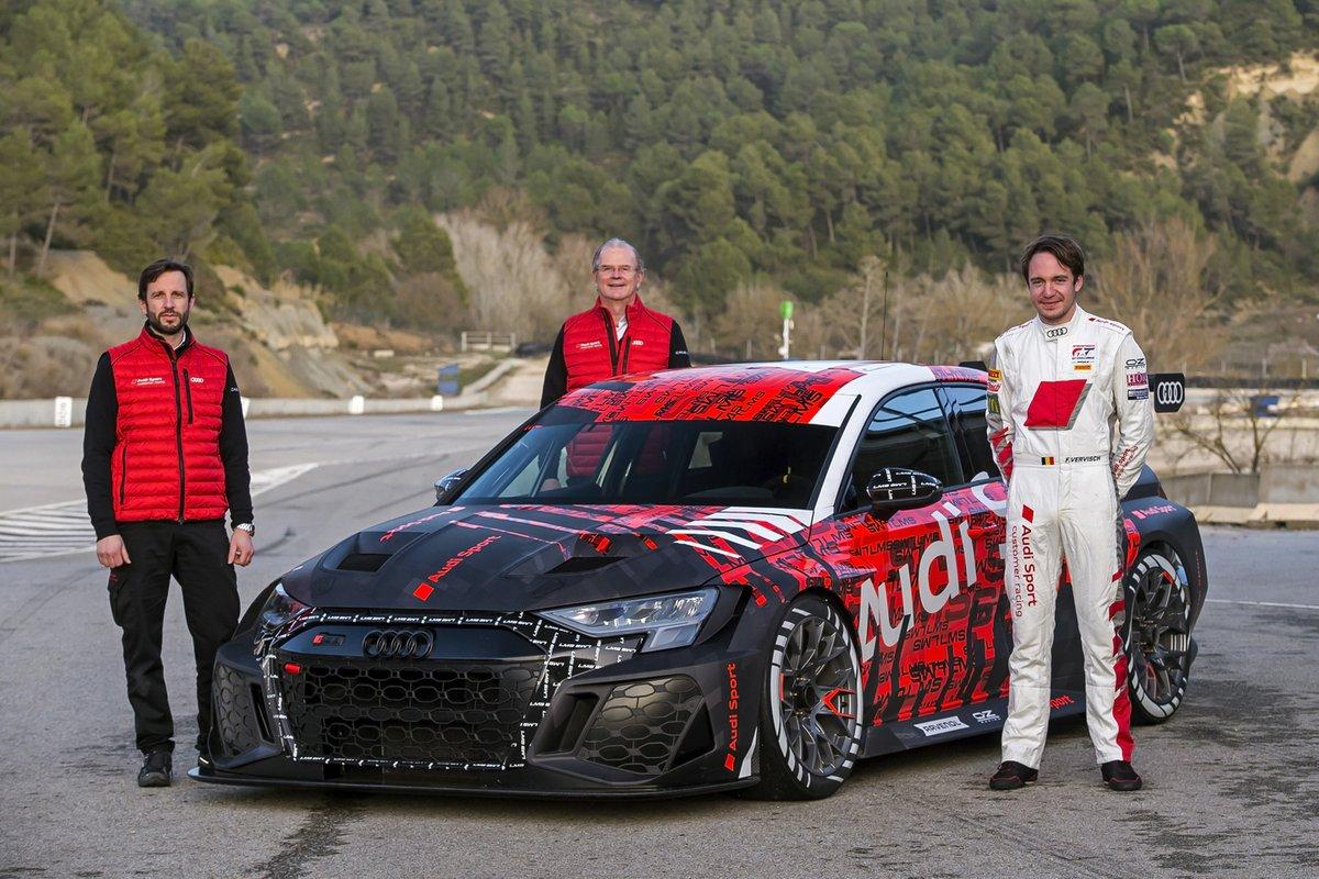 Andrea Milocco, Detlef Schmidt, Frédéric Vervisch, Audi Sport, Audi RS 3 LMS TCR
