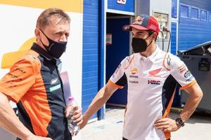 Mike Leitner, Red Bull KTM Factory Racing, Marc Marquez, Repsol Honda Team