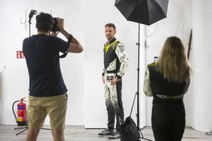 Jenson Button, JBXE Extreme-E Team, poses for a photo