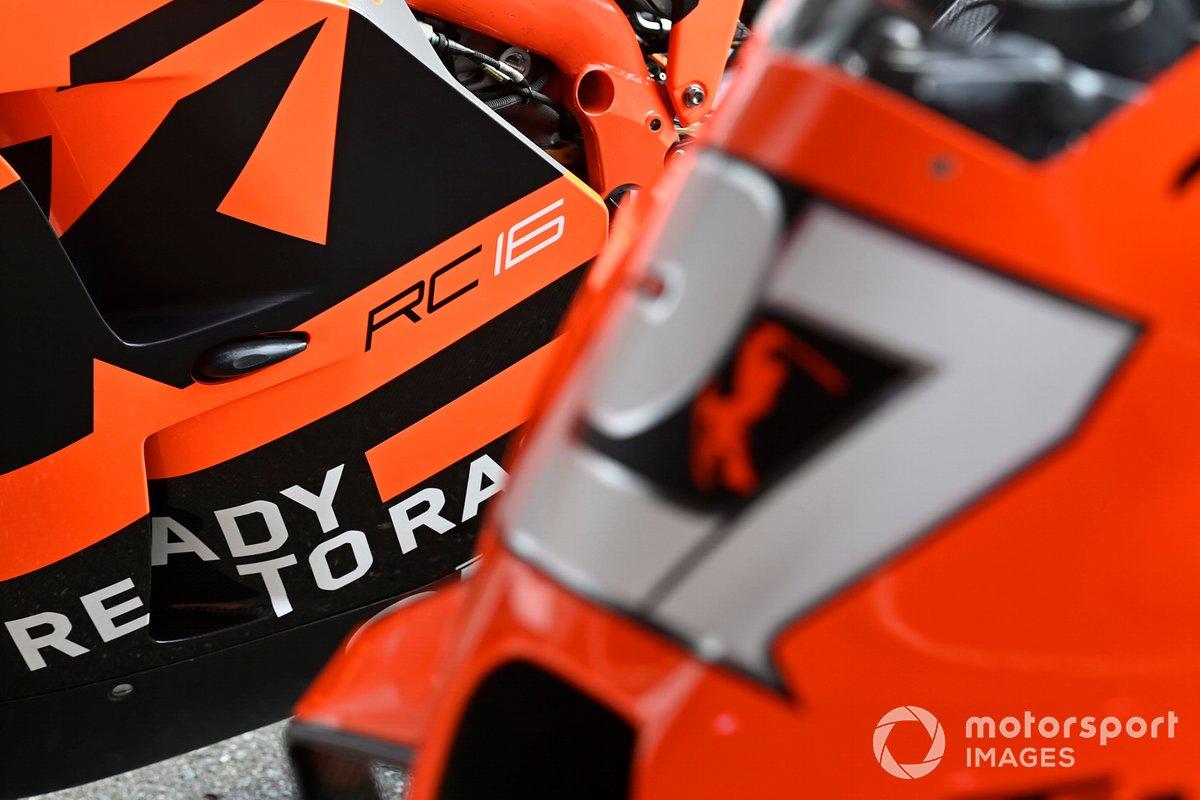 Moto de KTM Tech3