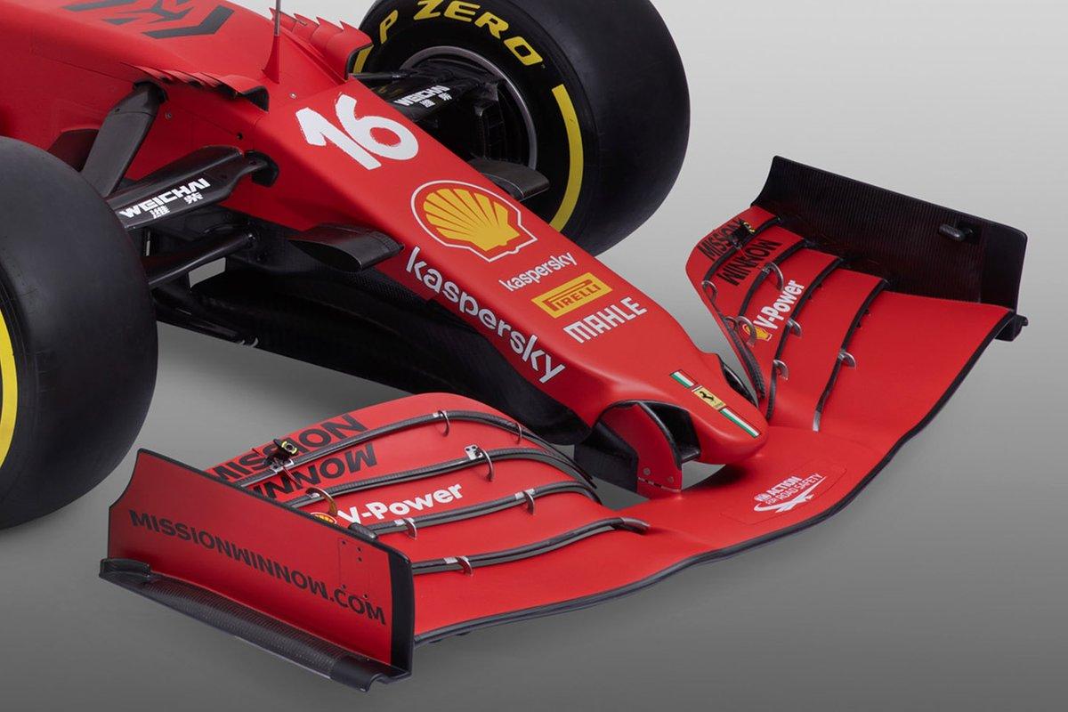 Detalle del Ferrari SF21