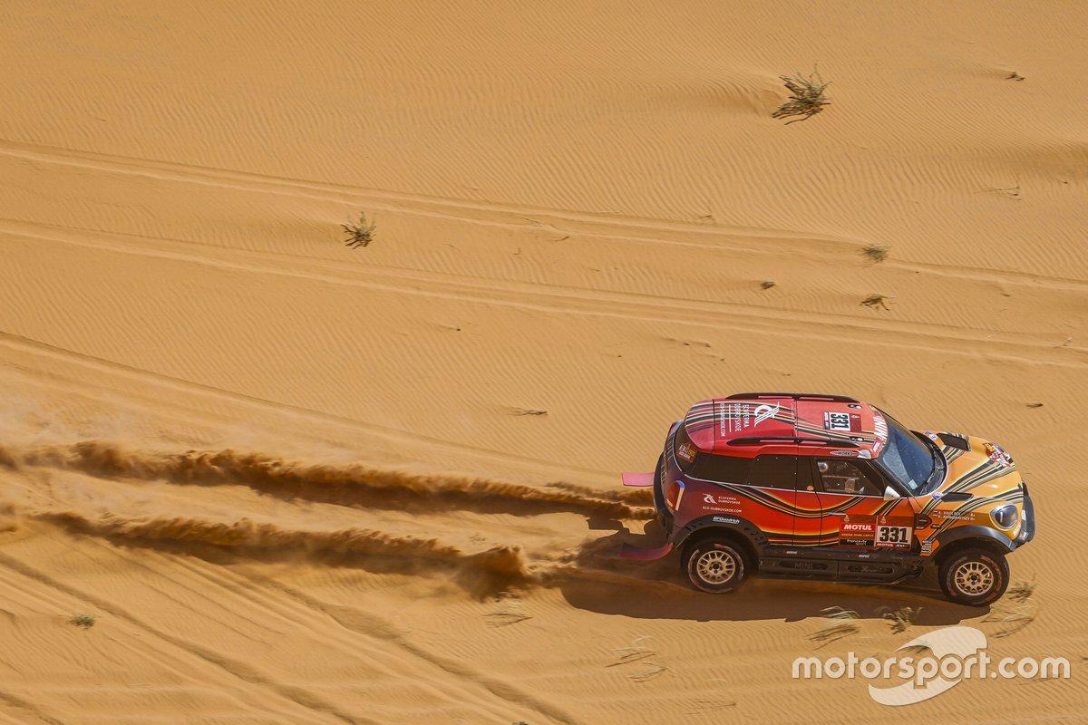 #331 X-Raid Mini JCW Rally Team: Victor Khoroshavsev, Anton Nikolaev