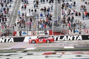 Race winner Ryan Blaney, Team Penske, Ford Mustang BodyArmor