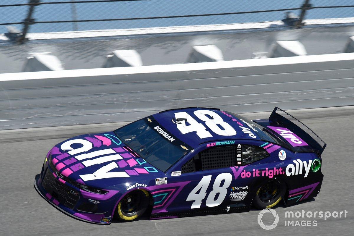 1. Alex Bowman, Hendrick Motorsports, Chevrolet Camaro