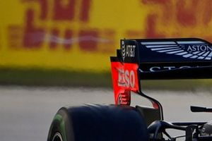 Detail achtervleugel Red Bull Racing RB16