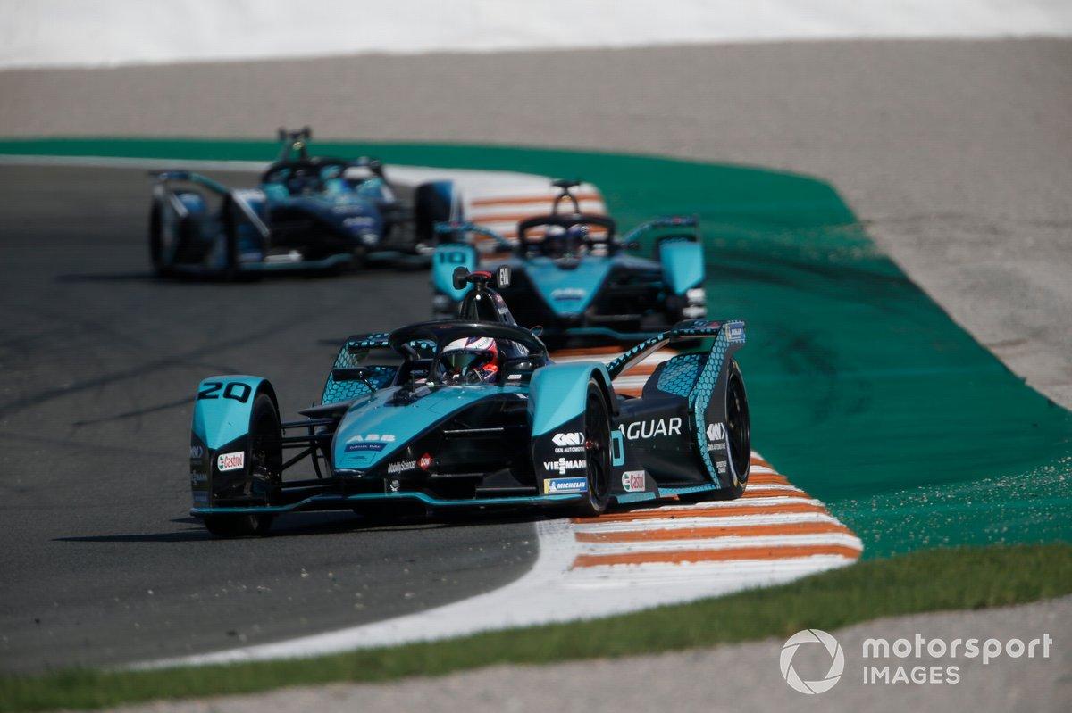 Mitch Evans, Panasonic Jaguar Racing, Jaguar I-Type 5, Sam Bird, Panasonic Jaguar Racing, Jaguar I-Type 5