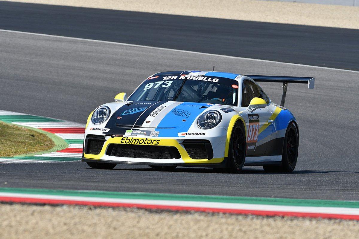 #973 EBIMOTORS: Gianluca Giorgi, Luigi Peroni, Paolo Gnemmi, Massimiliano Donzelli, Porsche 991-II Cup