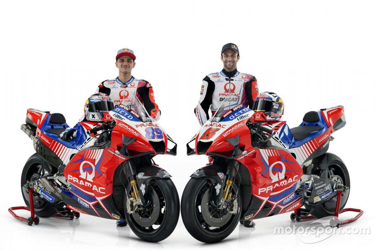 Jorge Martin, Johann Zarco, Pramac Ducati
