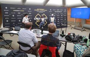 Catie Munnings, Timmy Hansen, Andretti United Extreme E en la conferencia